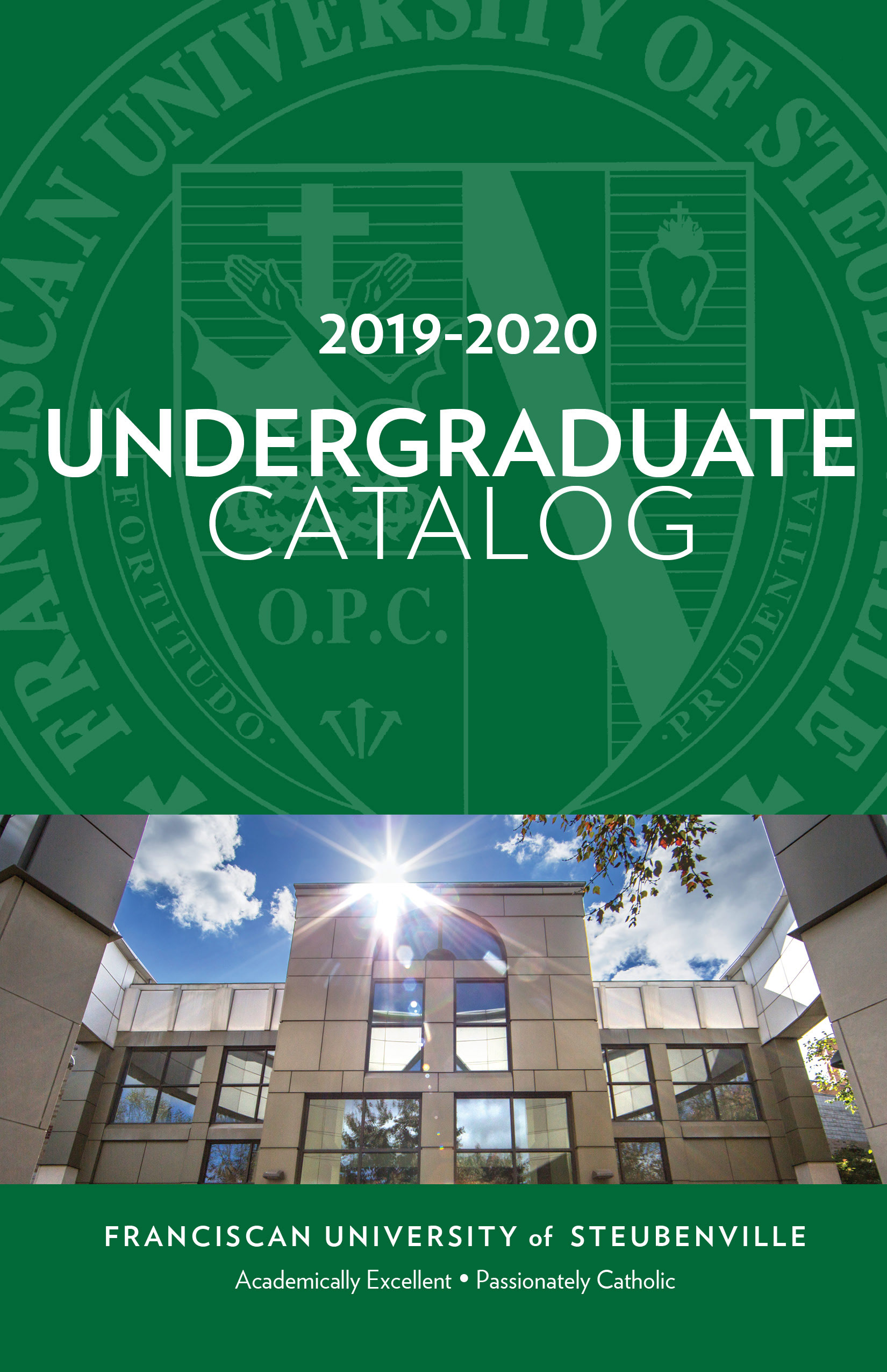 2019-2020 Undergraduate Catalog Cover